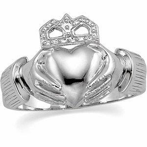 11mm Men's Claddagh Ring