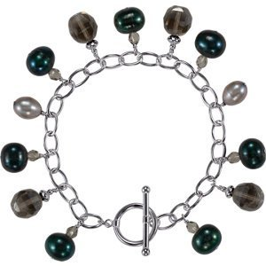 """7.25"""" Freshwater Cultured Dyed Pearl Bracelet"""