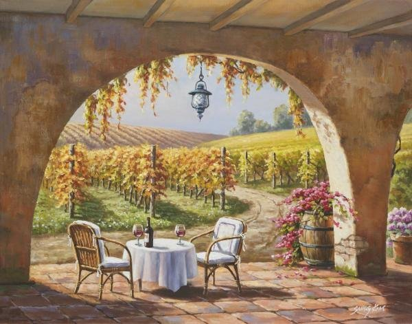 SUNG KIM - VINEYARD FOR TWO