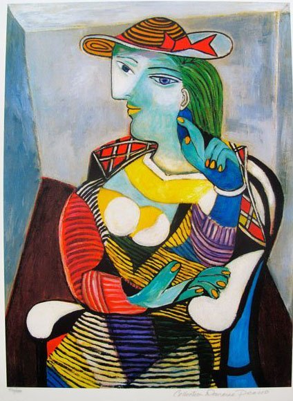 #12 PORTRAIT OF MARIE THERESE WALTER PICASSO ESTATE