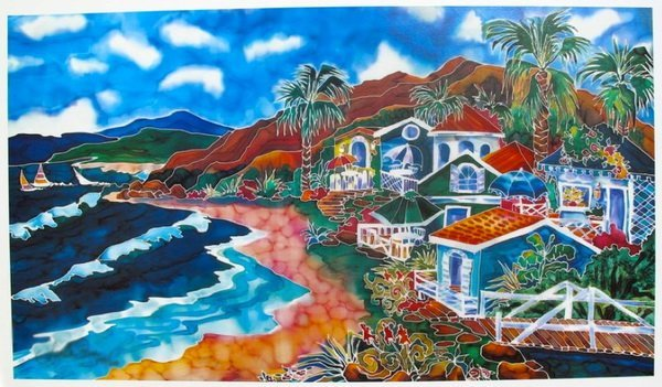 LINDA PIRRI BEACH COTTAGES HAND SIGNED LIMITED ED.