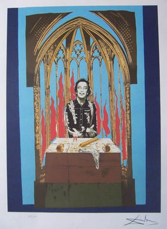 SALVADOR DALI THE MAGICIAN LIMITED ED. GICLEE