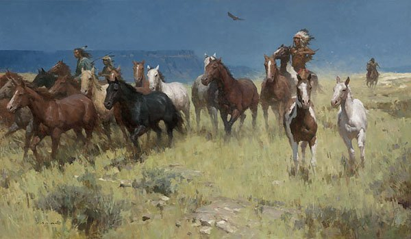 PLUNDER OF MANY HORSES - BY Z.S. LIANG