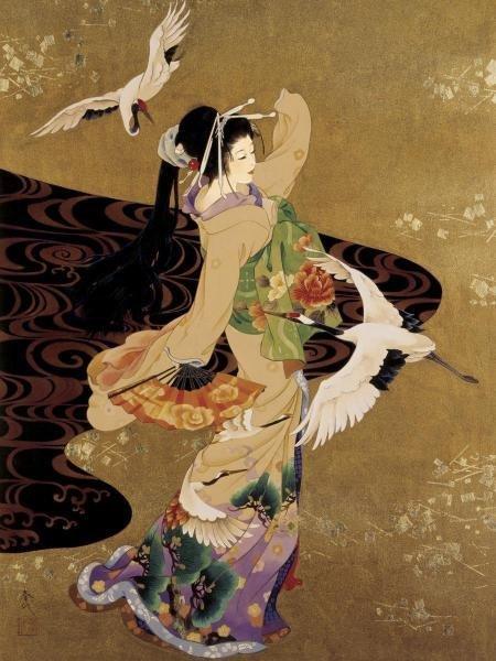 HARUYO MORITA - DANCE OF THE CRANES