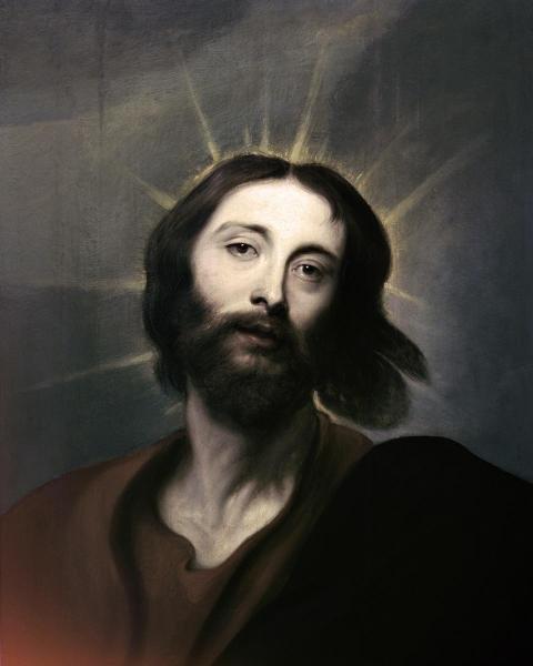 ANTHONY VAN DYCK - JESUS HOLY CHRIST