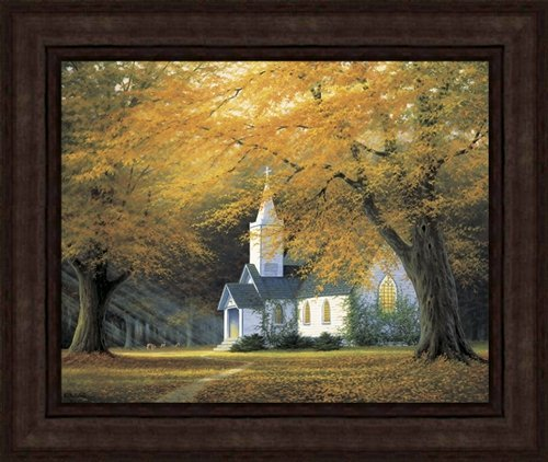 THE CHURCH IN THE GLEN LIMITED EDITION FRAMED CANVAS