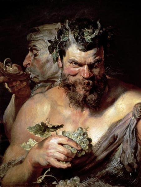 PETER PAUL RUBENS - THE TWO SATYRS