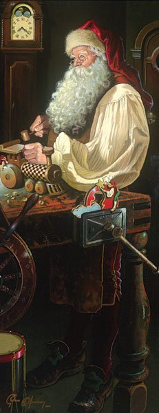 FATHER CHRISTMAS: THE WORKSHOP - BY DEAN MORRISSEY