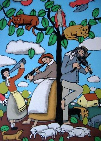 Elke Sommer FAMILY MAKING MUSIC Limited Ed. Hand Signed