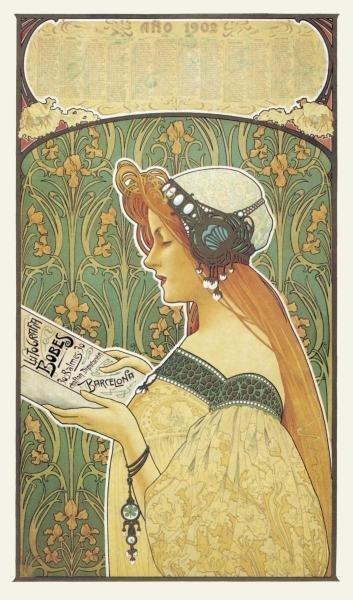 UNKNOWN - LITHOGRAFIA BOBES, 1900
