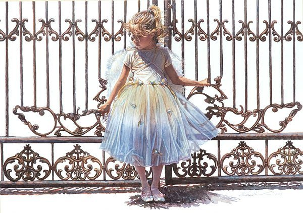 HOLD ONTO THE GATE - BY STEVE HANKS