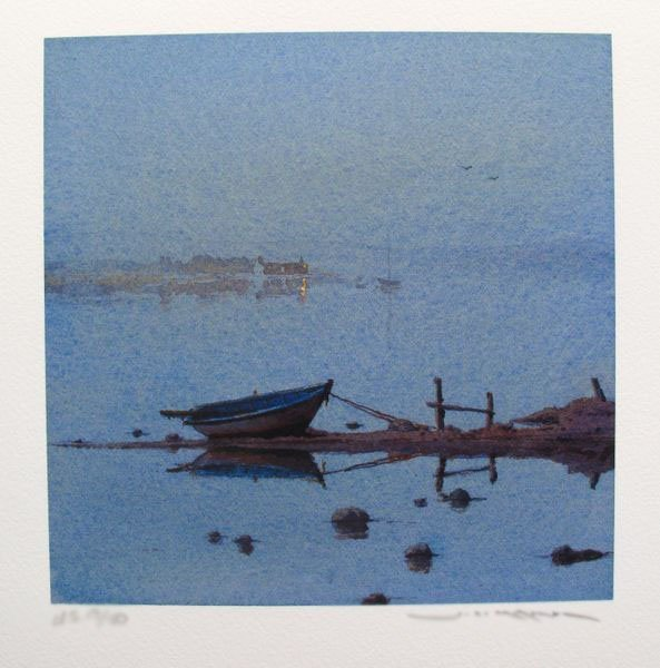 Ged Mitchell END OF THE DAY Limited Ed. Hand Signed
