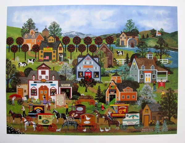 Jane Wooster Scott SHOPPING SPREE Hand Signed Limited