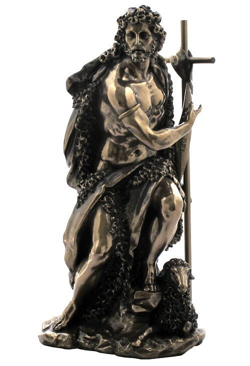 ST. JOHN THE BAPTIST - BRONZE