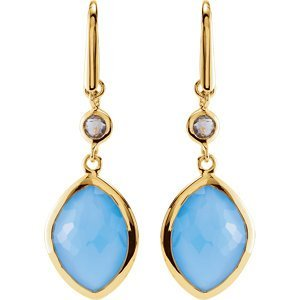 MISSOMA GEMSTONE DROP EARRINGS