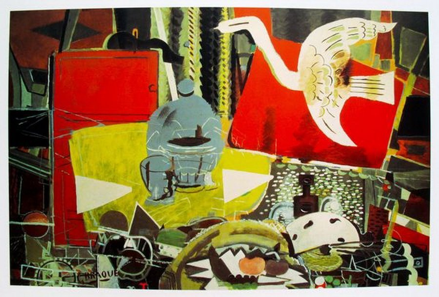 Georges Braque STUDIO VIII Plate Signed Lithograph