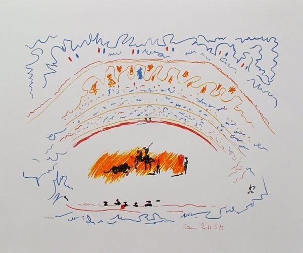 Pablo Picasso CORRIDA Limited Ed. Giclee