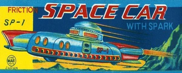 RETROTRANS - SP-1 FRICTION SPACE CAR
