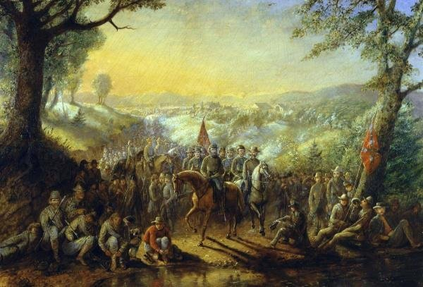 DAVID ENGLISH HENDERSON - HALT OF THE STONEWALL BRIGADE
