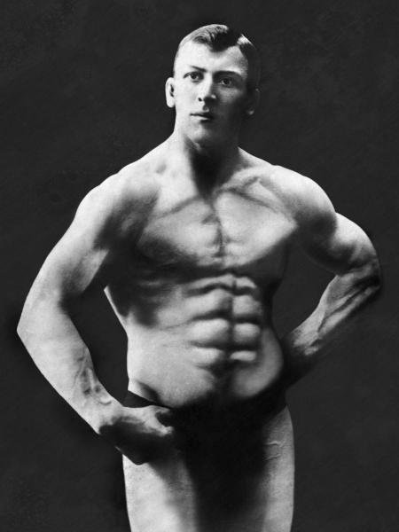 VINTAGE MUSCLE MEN - PERFECT ABS