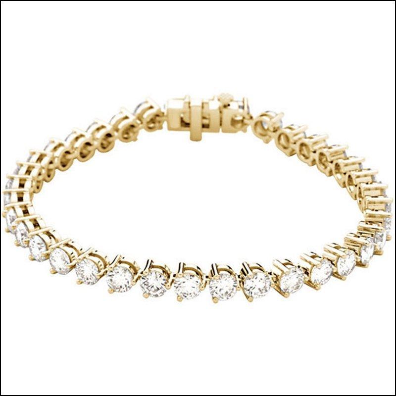 12 CT TW DIAMOND TENNIS BRACELET