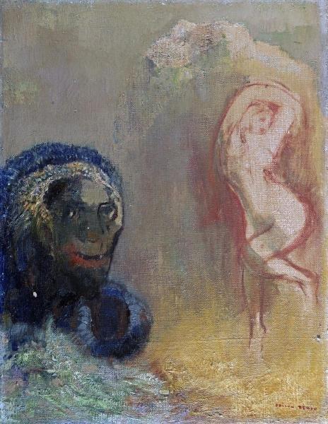 ODILON REDON - ANDROMEDA AND THE MONSTER