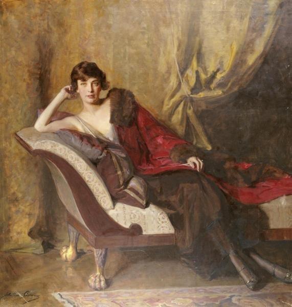 JOHN QUINCY ADAMS - PORTRAIT OF COUNTESS MICHAEL