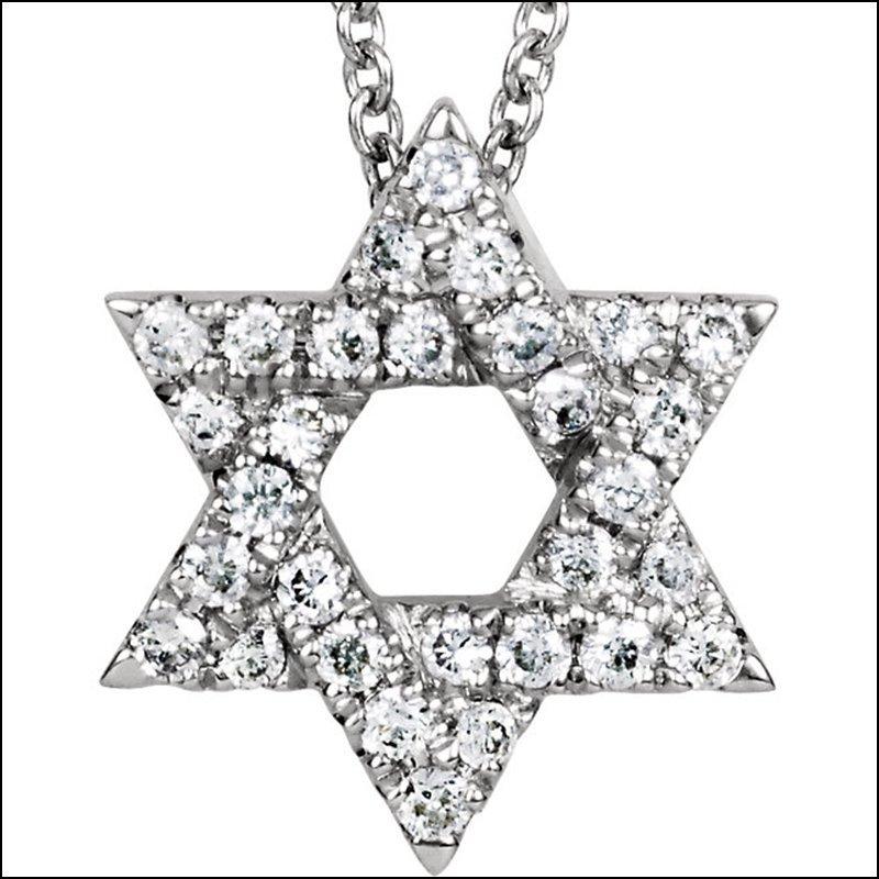 PETITE STAR OF DAVID NECKLACE