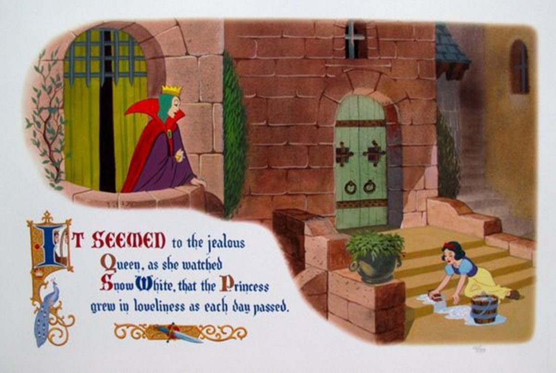 Disney SNOW WHITE AND THE EVIL QUEEN Limited Ed.