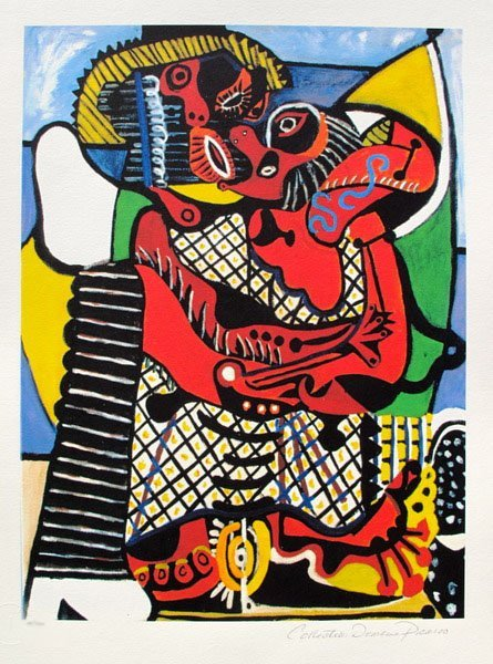 #53 THE EMBRACE Picasso Estate Signed Giclée