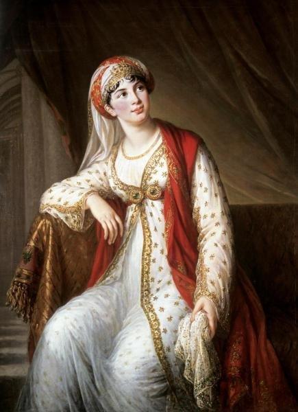 ELIZABETH LOUISE VIGEE-LEBRUN - PORTRAIT OF THE OPERA