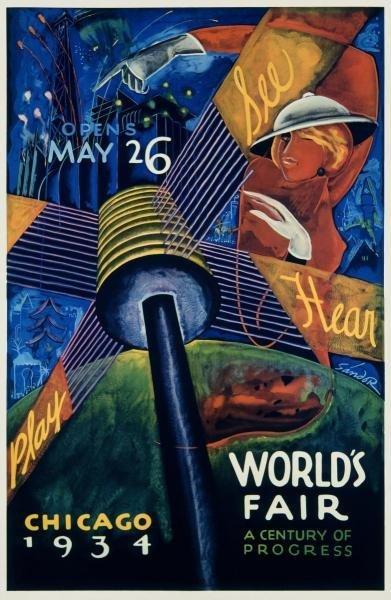 SANDOR - CHICAGO WORLD'S FAIR 1933-34