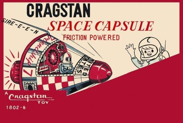 RETROBOT - CRAGSTAN SPACE CAPSULE