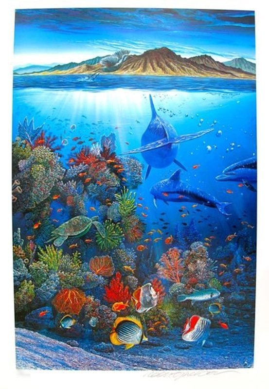 Robert Lyn Nelson RED SEA SIRENS Limited Ed. Hand