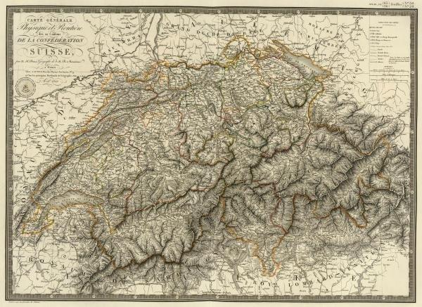ADRIEN HUBERT BRUE - SUISSE, 1822