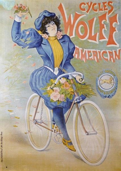 UNKNOWN - CYCLES WOLFF, AMERICAN