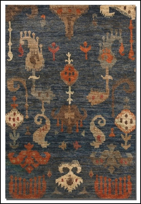 HAND KNOTTED BALI 9 X 12 RUG