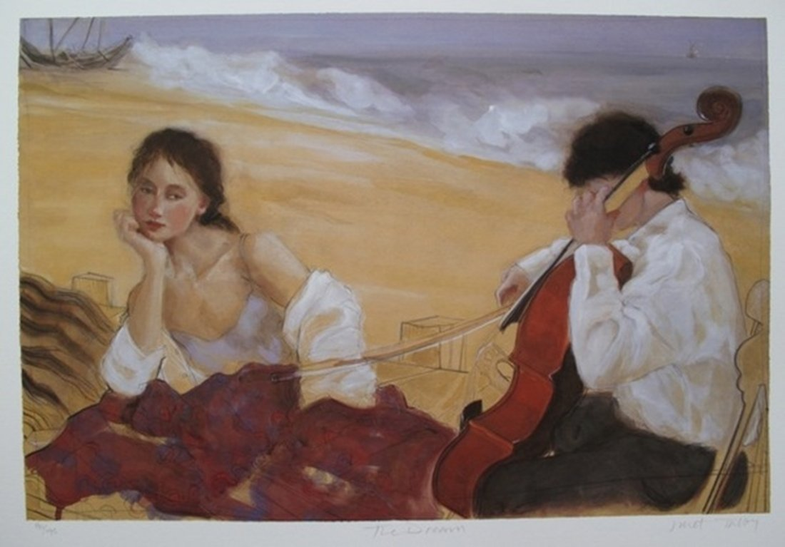 Janet Treby THE DREAM Hand Signed Limited Ed. Giclee