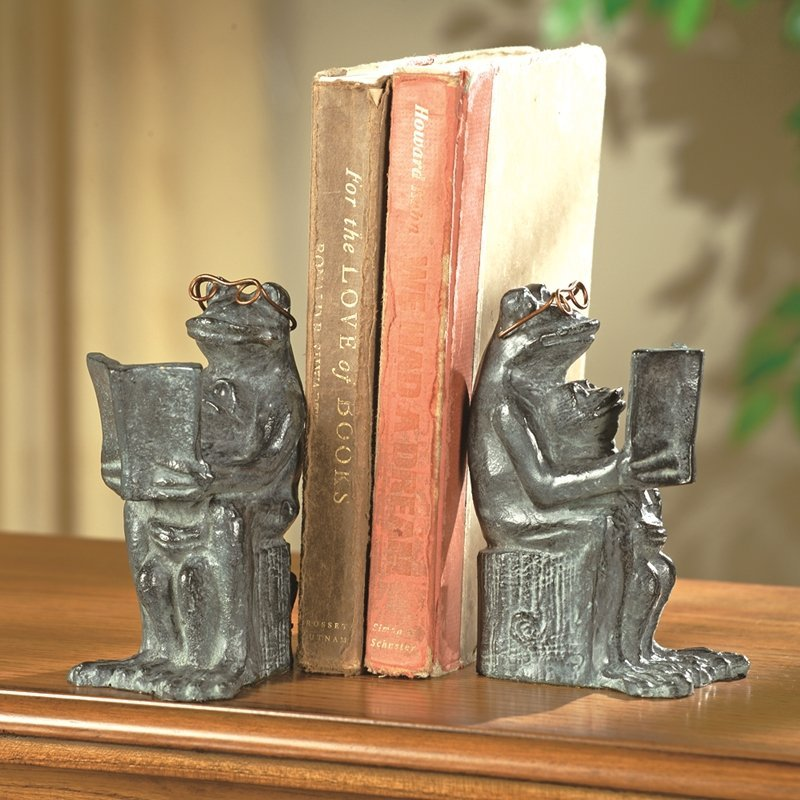 READING FROG BOOKENDS PR