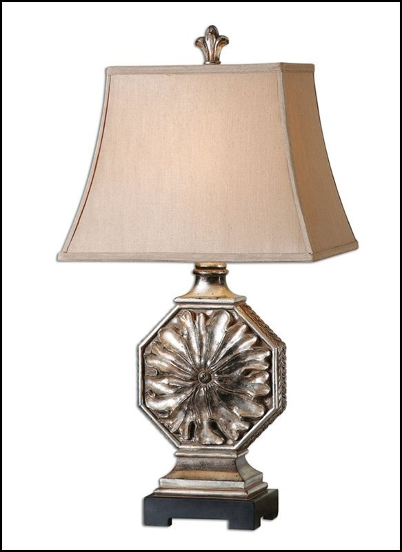 ALLEGRIA SILVER TABLE LAMP