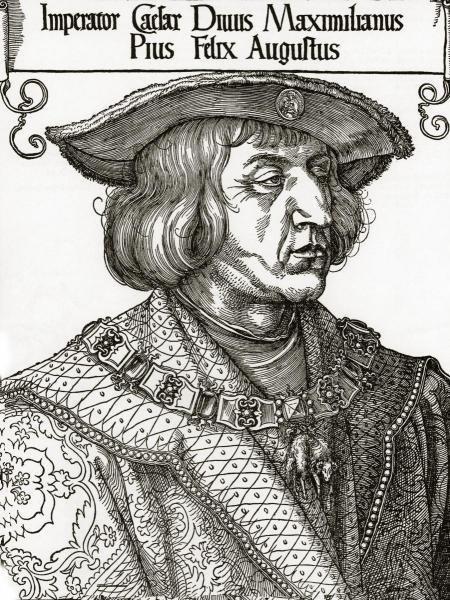 ALBRECHT DURER - PORTRAIT OF THE EMPEROR MAXIMILIAN