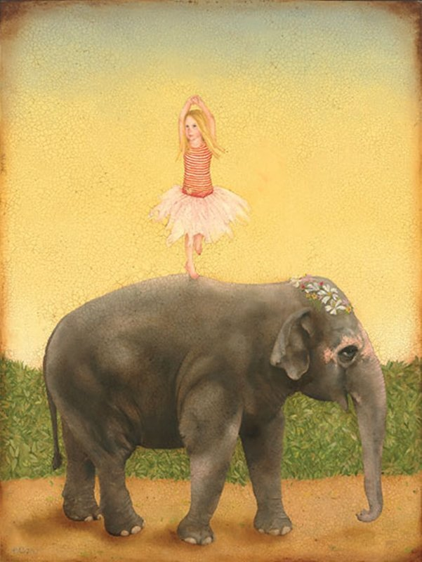 PIROUETTES AND PACHYDERMS - EMILY MCPHIE