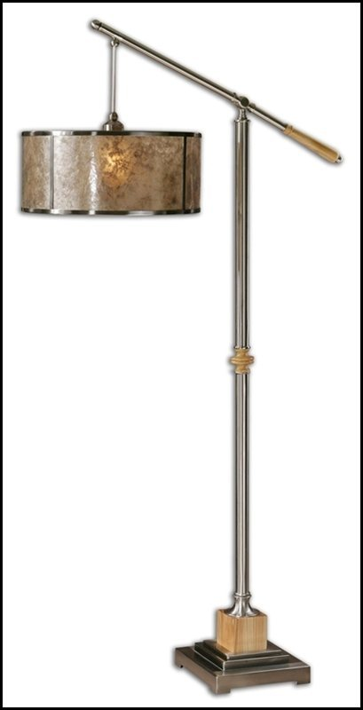 SITKA SILVER FLOOR LAMP