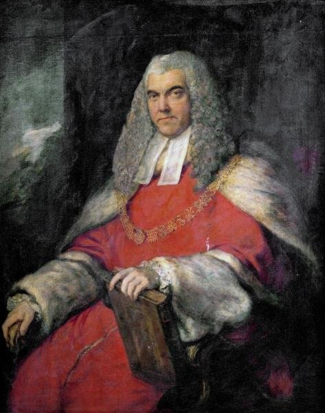 THOMAS GAINSBOROUGH - PORTRAIT OF SIR JOHN SKYNNER