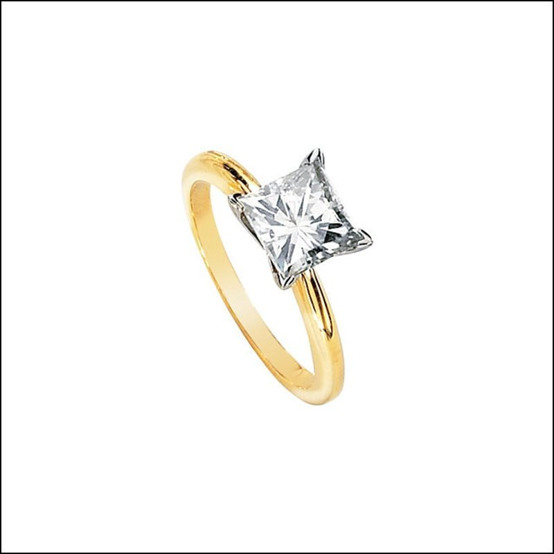 CREATED MOISSANITE SOLITAIRE