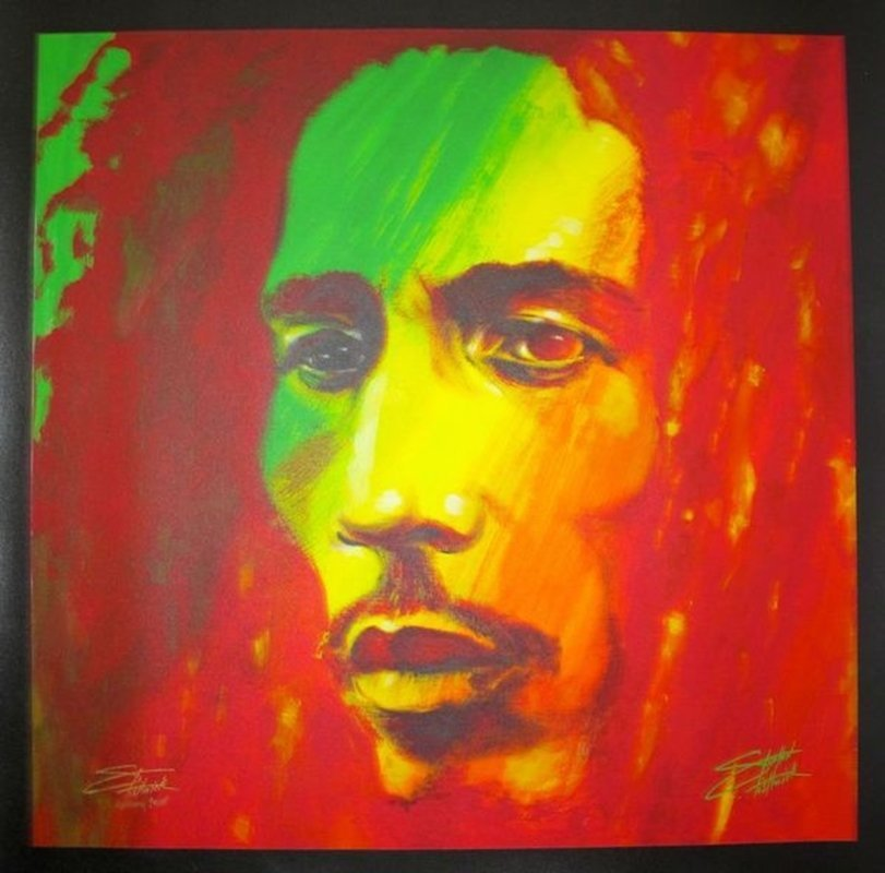 "Stephen Fishwick ""THE SOLDIER"" BOB MARLEY Limited Ed."