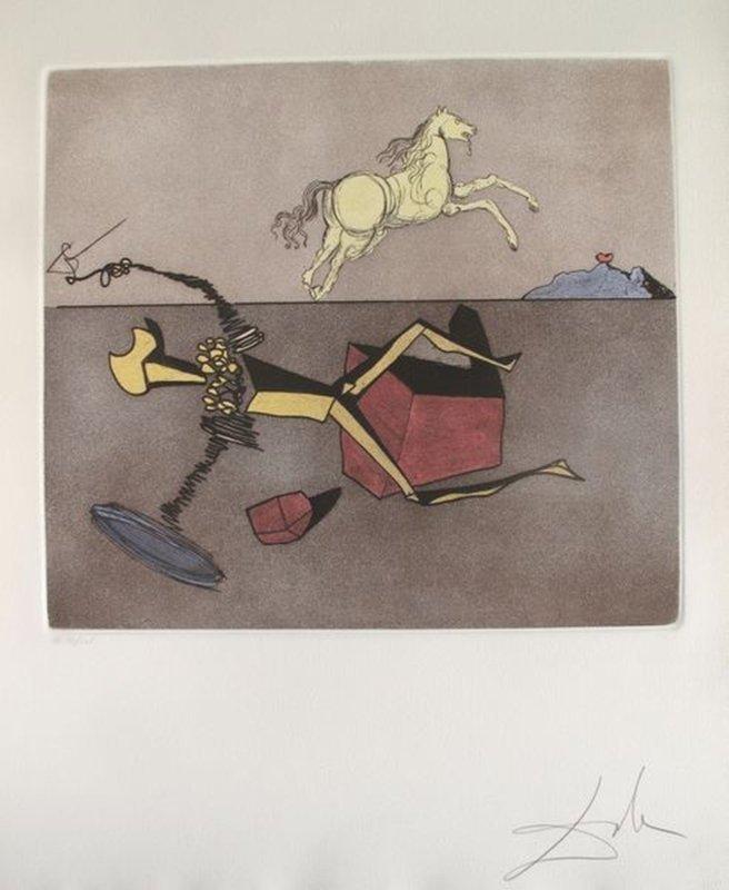 Salvador Dali Man of La Mancha Suite ASPIRATION Hand