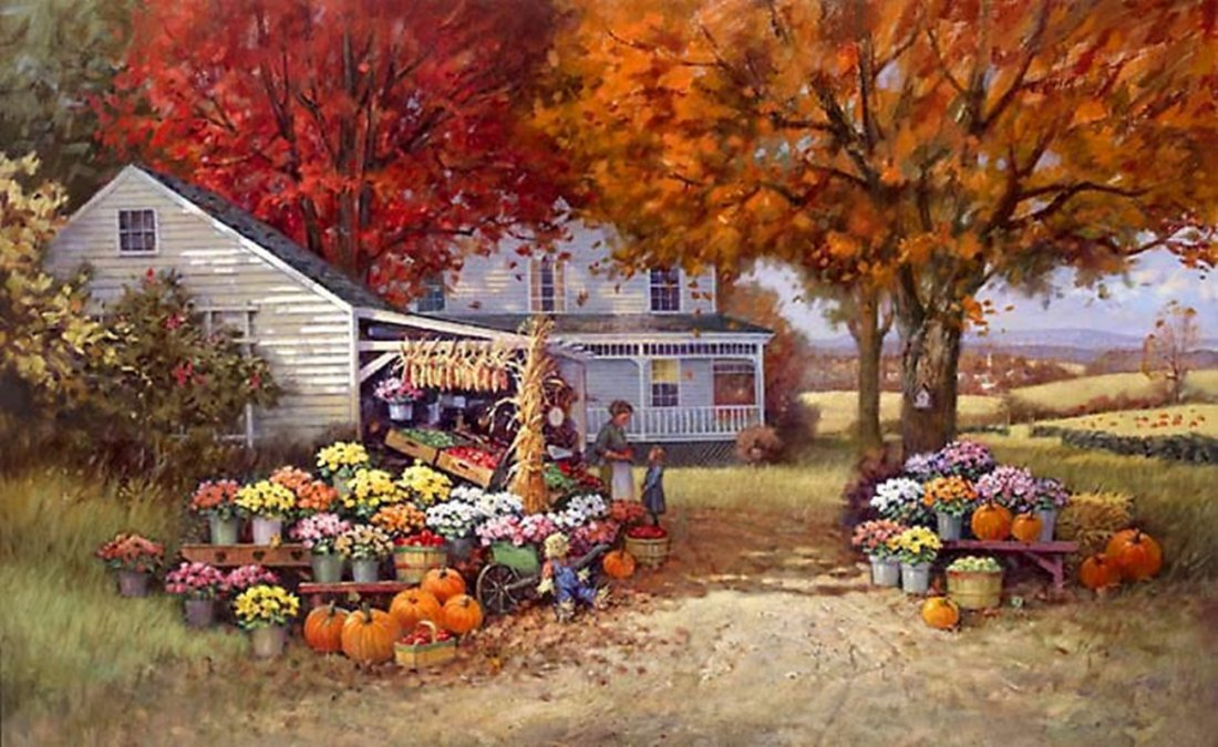 AUNT MARTHA'S AUTUMN HEIRLOOM - PAUL LANDRY