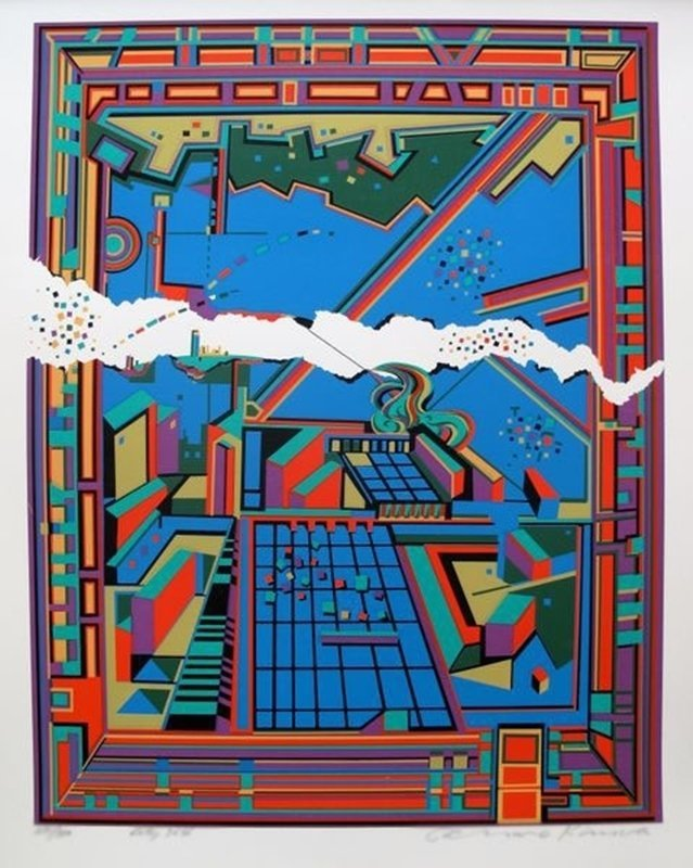 Risaburo Kimura CITY 364 Limited Ed. Hand Signed