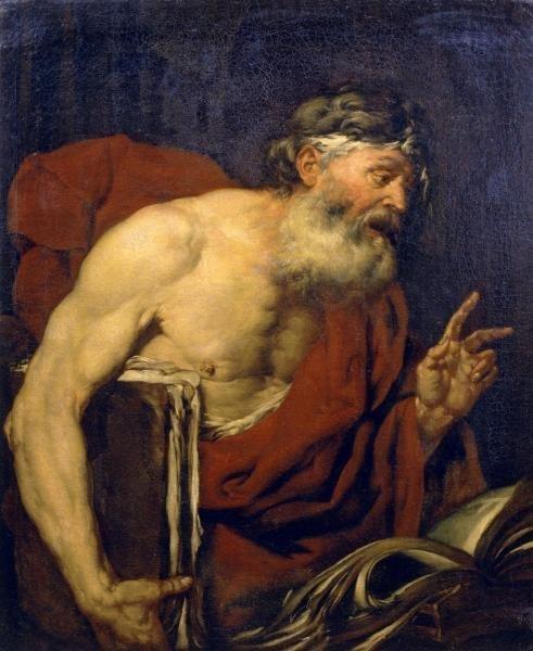 GIOVANNI BATTISTA LANGETTI - A PHILOSOPHER